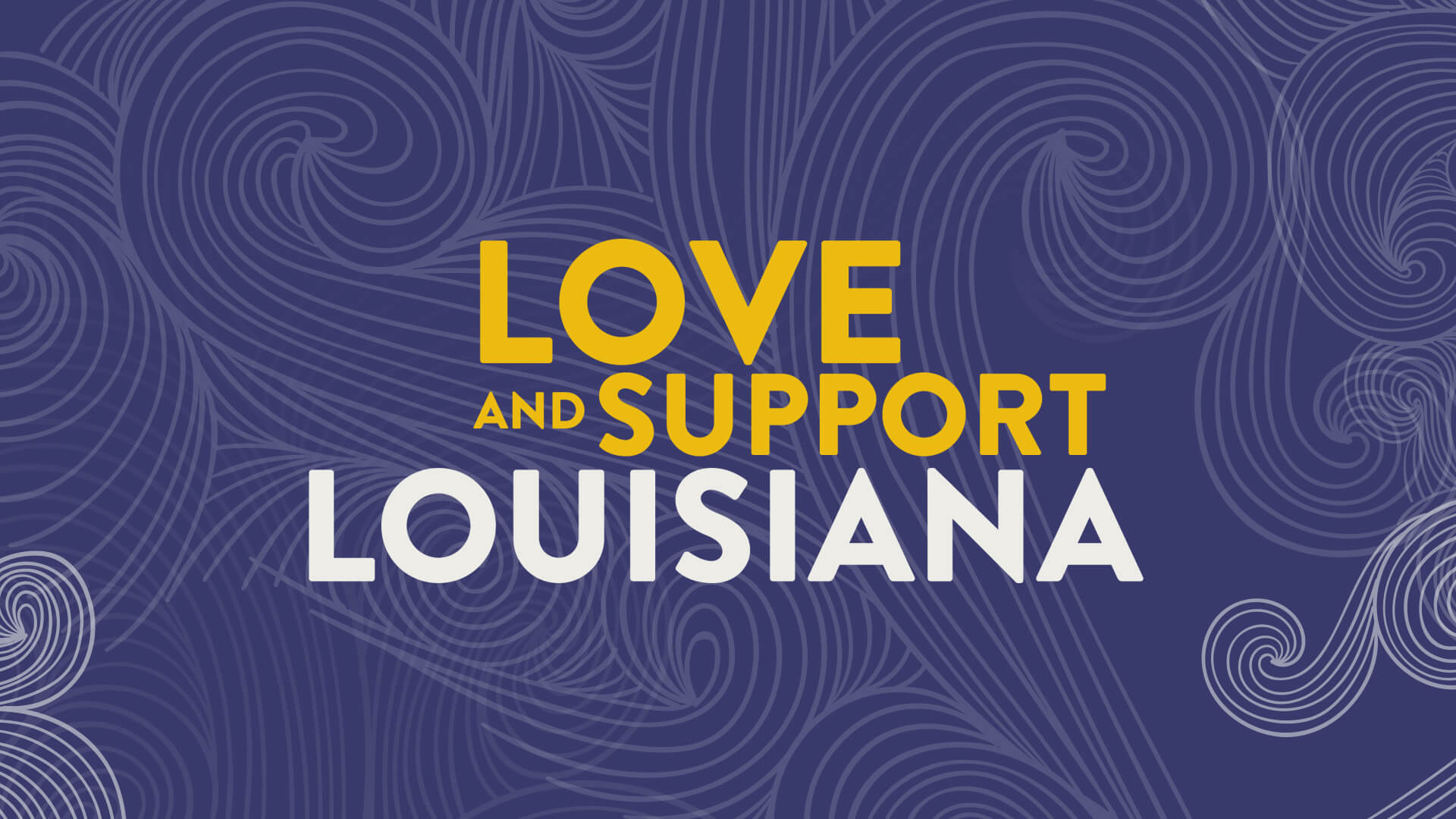 Love and Support Louisiana Image