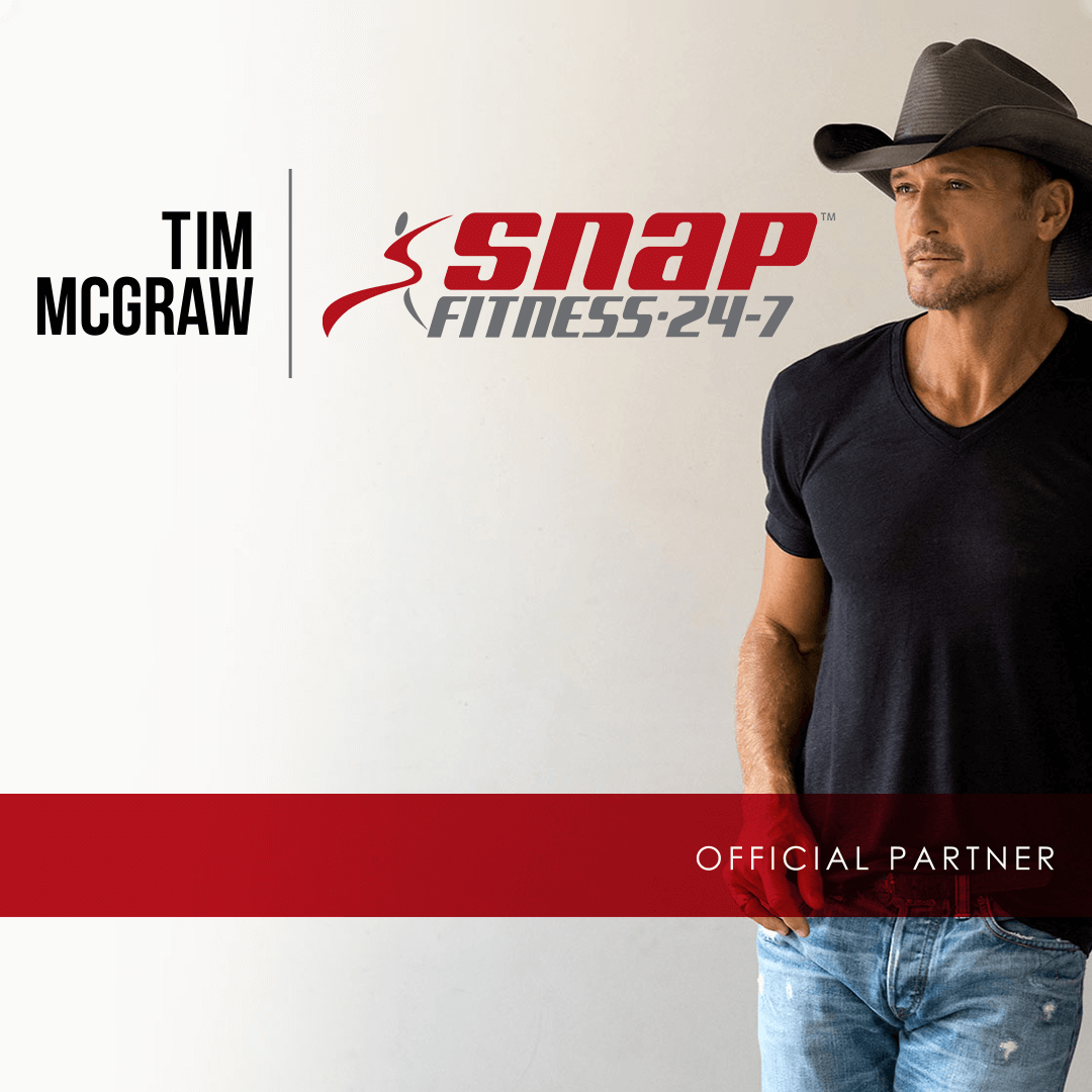 Image of Tim McGraw for Snap Fitness