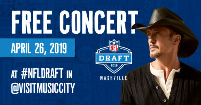 Tim McGraw NFL Draft Ad
