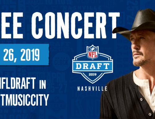 GRAMMY Award-Winner Tim McGraw to Perform Free Concert at NFL Draft