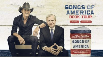 Tim McGraw & Jon Meacham Photo
