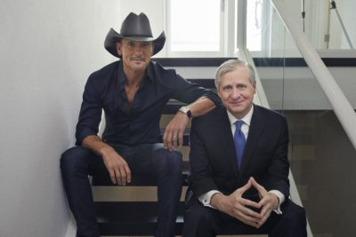 Image of Tim McGraw and Jon Meacham